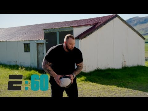 How The World's Strongest Man Hafthor Bjornsson Became 'The Mountain' On Game Of Thrones | E:60