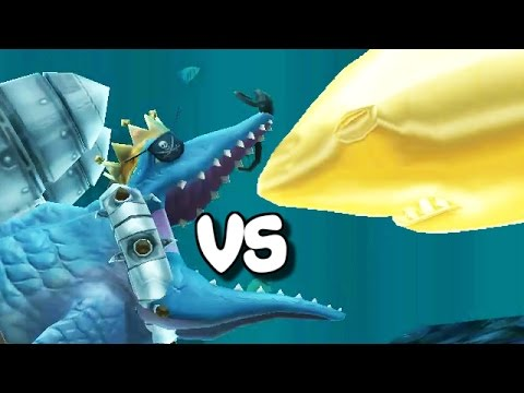 Hungry shark evolution megalodon vs giant crab - photo#44