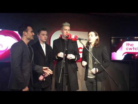 The Cwtch: Collabro - Shape Of You Cover LIVE
