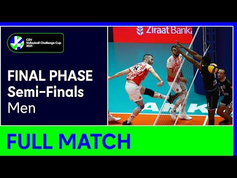 VK Lvi PRAHA vs. Ziraat Bankasi SK ANKARA - CEV Volleyball Challenge Cup 2021 Men Semi-Finals