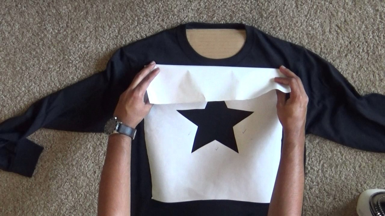 How to bleach a design onto a t shirt youtube for How to bleach at shirt