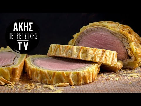 Beef Wellington Επ.16 | Kitchen Lab TV | Άκης Πετρετζίκης