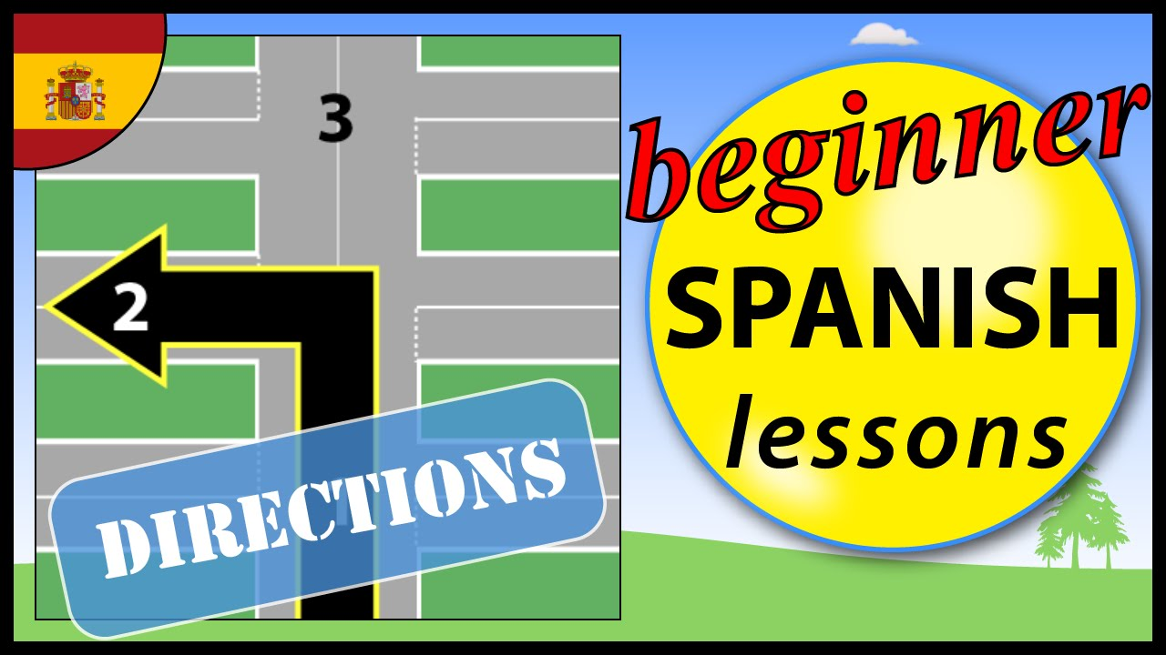 give directions in spanish lessons tes teach. Black Bedroom Furniture Sets. Home Design Ideas