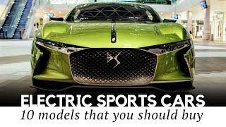 Top 10 Electric Sportscars Ready to Take on the Fastest Internal Combustion Models