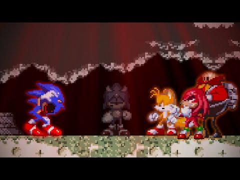 I SAVED EVERYONE WITH THE HARDEST MODE: Sonic.exe The Spirits Of Hell Best Ending Nightmare Mode