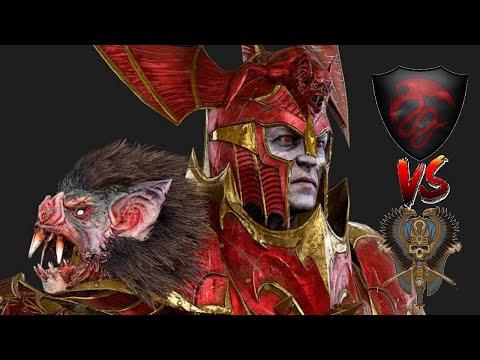 THE CRIMSON RIDERS - Tomb Kings vs Vampire Counts | Total War: Warhammer 2 |