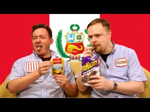 Peru Taste Test ft Ashens