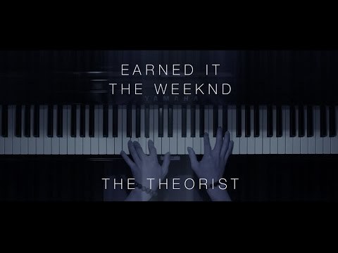 The Weeknd - Earned It  The Theorist Piano Cover