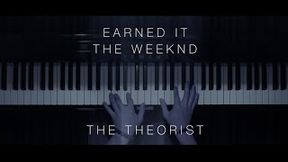 The Weeknd - Earned It | The Theorist Piano Cover