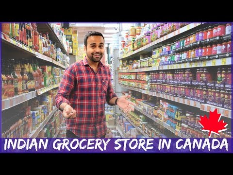 🔥 Inside An Indian Grocery Store - Canada