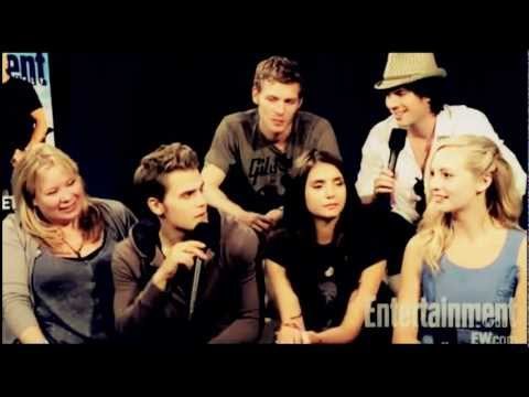 Funny The Vampire Diaries Cast ♥