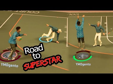 NBA 2k17 MyPARK - Little Kid Gets Mad on Park! Chef Gento Ankle Breaker! Road to Superstar