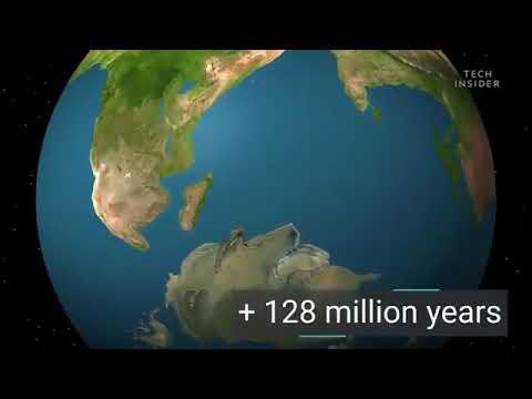 Земля через 250 млн лет