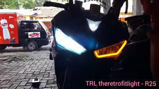 R25 custom headlight