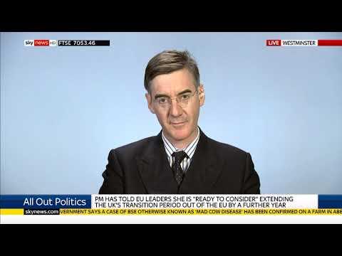 Jacob Rees-Mogg on Sky News with Adam Boulton