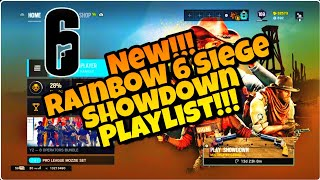 Rainbow 6 Siege New!! Showdown Playlist!!! BosG And Revolver ONLY!!!!