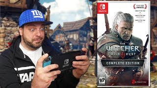 Why The Witcher 3 Is The BEST Handheld Switch Game!