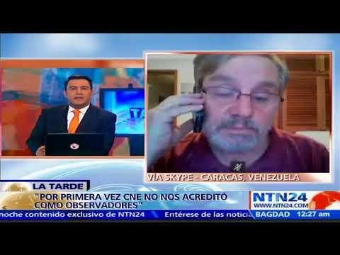"""""""Es la primera vez que el Consejo Nacional Electoral no nos acreditó"""": Luis Lander"""