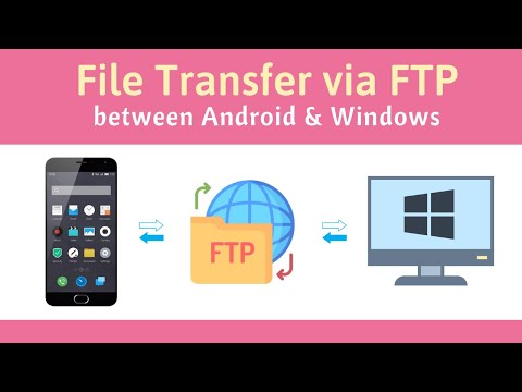 Transfer Files Between Android Phone And Windows PC Via FTP [over WiFi Or Mobile Hotspot]