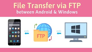 Transfer Files between Android Phone and Windows PC via FTP [over WiFi or Mobile Hotspot] screenshot 4