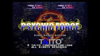 PSX Longplay [410] Psychic Force