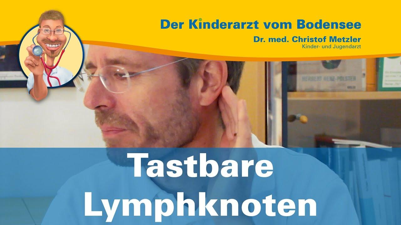 Tastbare Lymphknoten (geschwollen) - Der Kinderarzt vom Bodensee ...