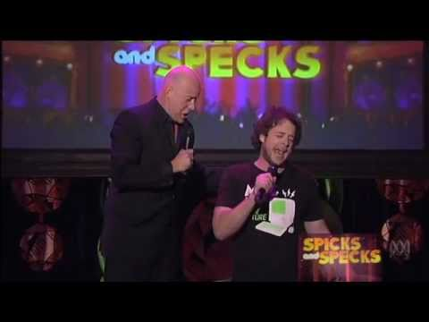 Spicks and Specks | Anthony Warlow & Hamish Blake Phantom of the Opera Closer - Ep 3, 2011