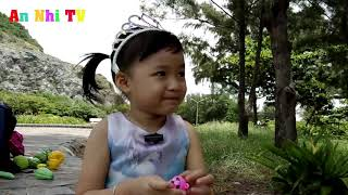 Incarnate into Elsa Snow Princess looking for dinosaur eggs and insects | Game experience