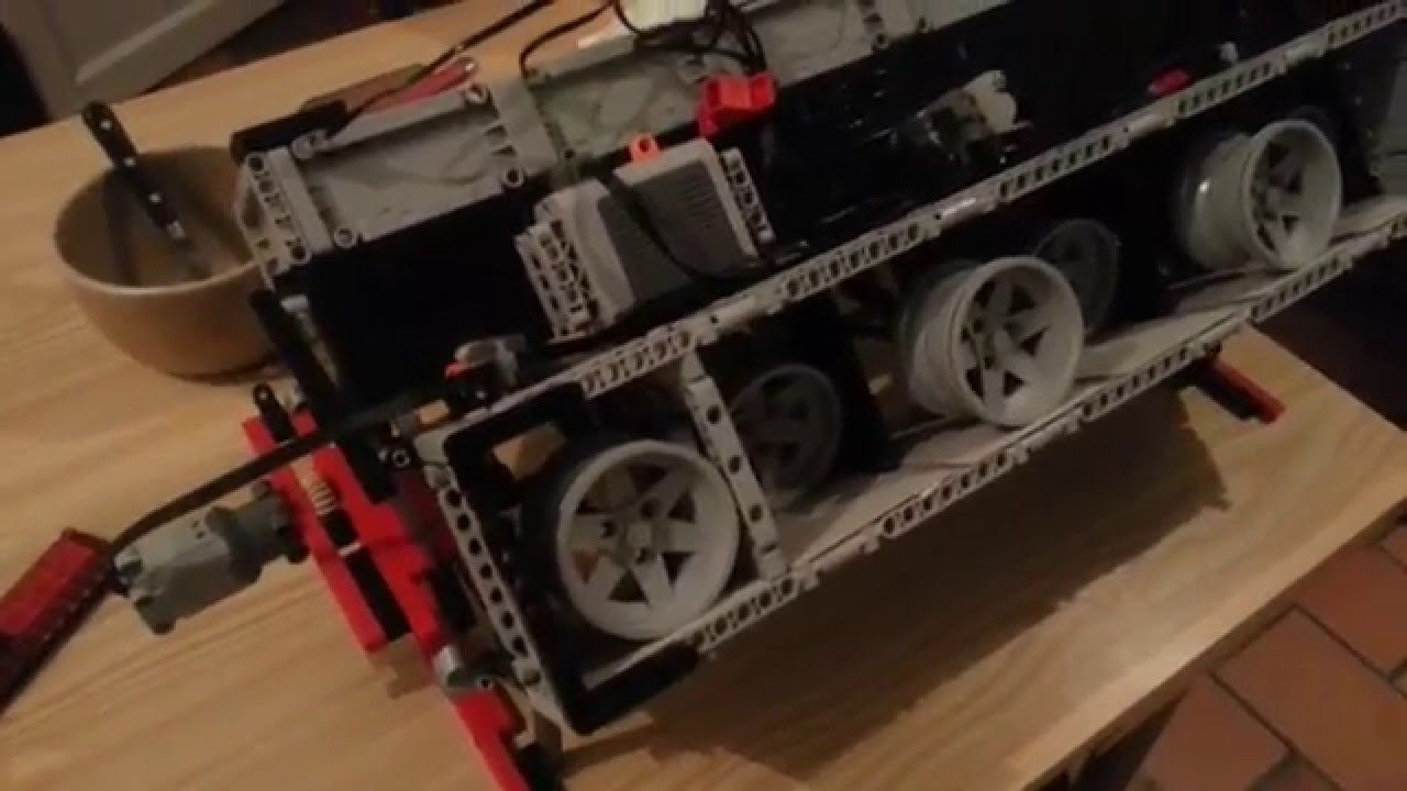 prototype moteur v12 lego technic youtube. Black Bedroom Furniture Sets. Home Design Ideas