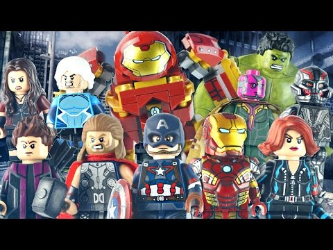 LEGO Marvel : Avengers: Age of Ultron Minifigures - Showcase