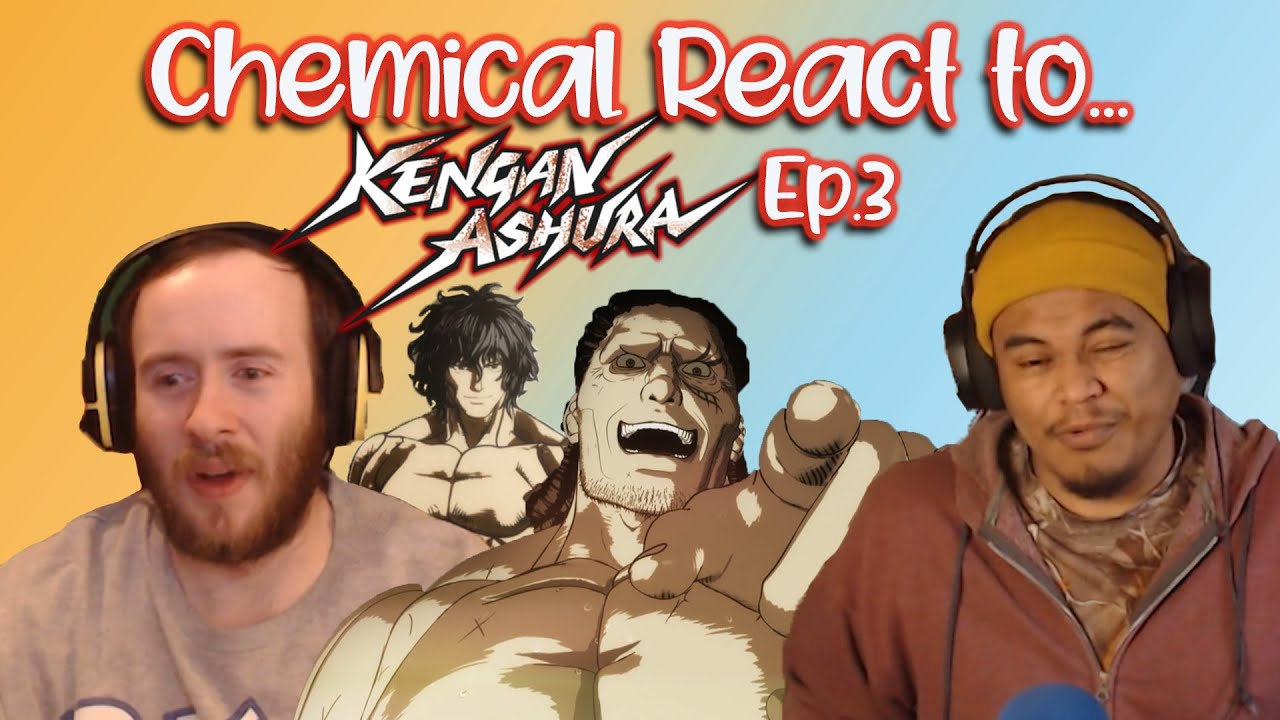 """Oh no! Not his fingers! 😳 *Cringes*""Kengan Ashura Reaction Episode 3"