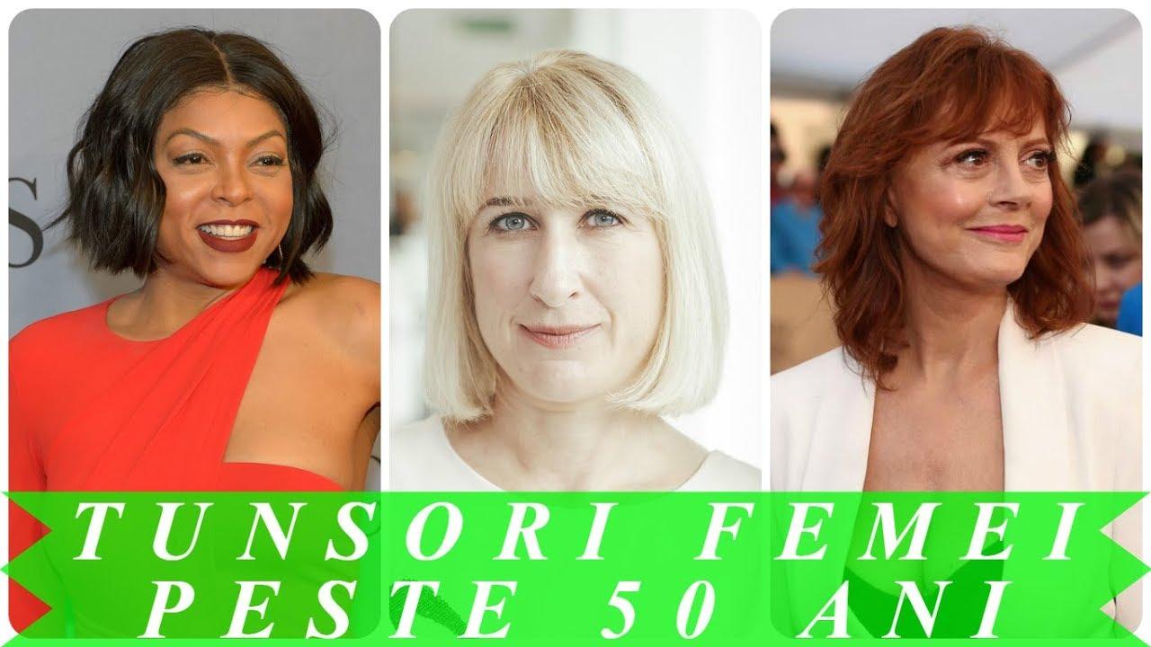 Tunsori Moderne Femei Peste 50 Ani 2018 Youtube