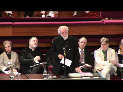 Anglican leaders attend cathedral service as row over sexuality continues from YouTube · Duration:  1 minutes 48 seconds
