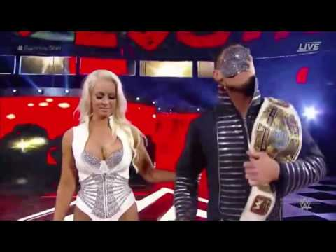 Summerslam 2016-  The Miz entrance with Maryse