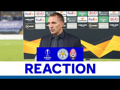 'Clean Sheet Was Important For Us.' - Brendan Rodgers | Leicester City vs. Zorya Luhansk