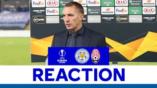 'Clean Sheet Was Important For Us.' - Brendan Rodgers   Leicester City 3 Zorya Luhansk 0