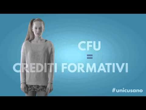 Cosa sono i CFU? - Unicusano #6