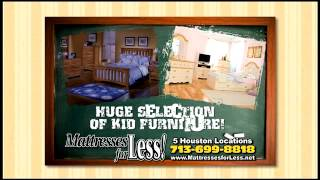 Kids Bedroom Sets - Houston Mattresses for Less(http://www.facebook.com/shopmattressesforless Don't forget to LIKE us on facebook to stay up to date on promotional offers and sales! Mattresses for Less is ..., 2012-03-20T13:32:08.000Z)