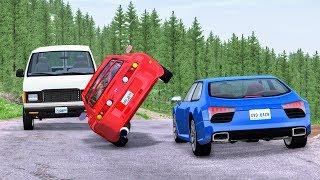 High Speed Traffic Crashes #4 - BeamNG Drive CrashBoomPunk