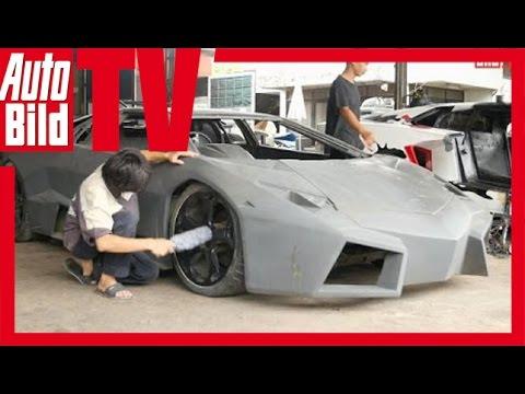 Autofälscher in Bangkok (2015) Lamborghini & Ferrari Kopien