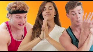 Men Try Yoga For The First Time
