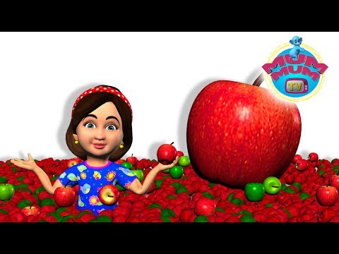An Apple A Day Keeps the Doctor Away - English Nursery Rhymes for Babies, Kids | Mum Mum TV