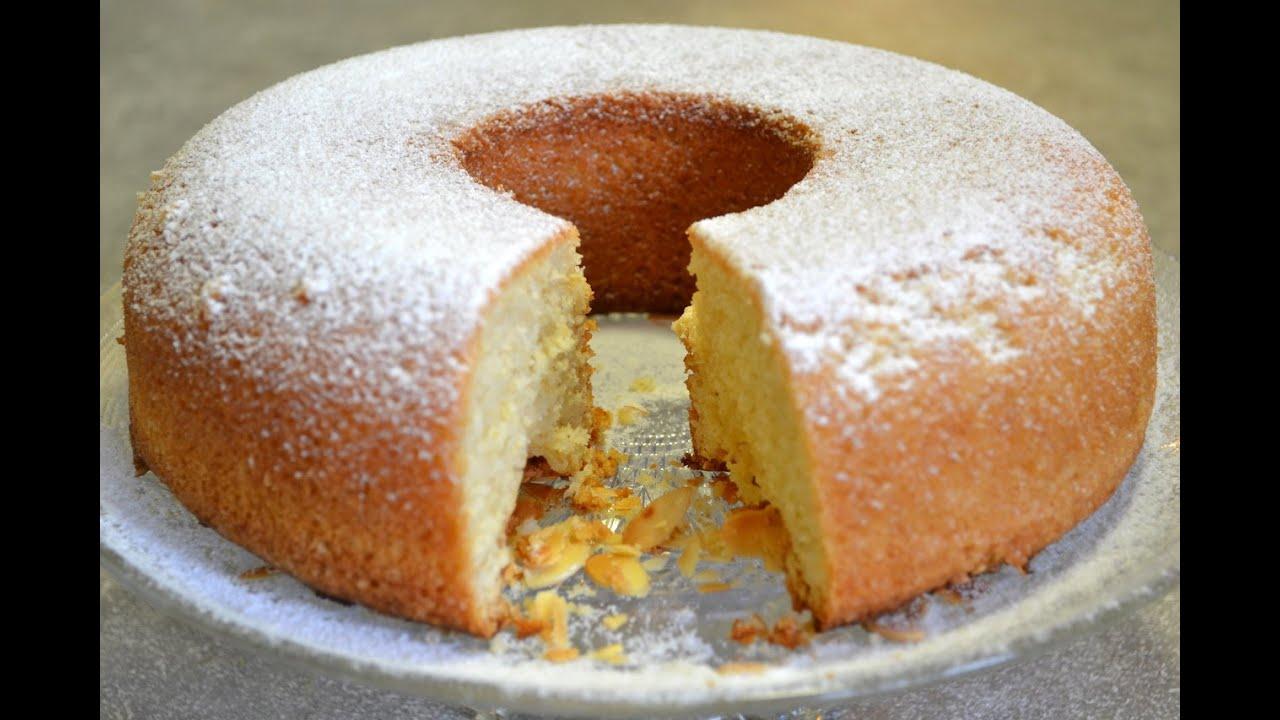 Mouskoutchou/algerian sponge cake/موسكوتشو بالليمون سهل اقتصادي و بمذاق  رائع , YouTube