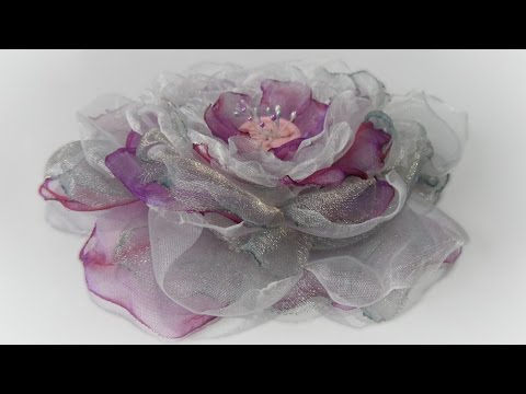 41ba47642ce Organza bloem - YouTube
