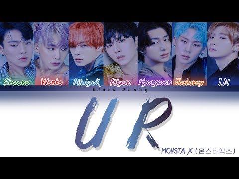 MONSTA X (몬스타엑스) – U R (Color Coded Lyrics Han/Rom/Eng/가사)