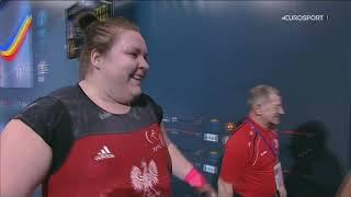 2018 European Weightlifting Championships Women +90 kg \ Тяжелая атлетика Чемпионат Европы [1080]