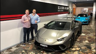 Lee & Shmee TEST DRIVE a Lamborghini Huracan Performante