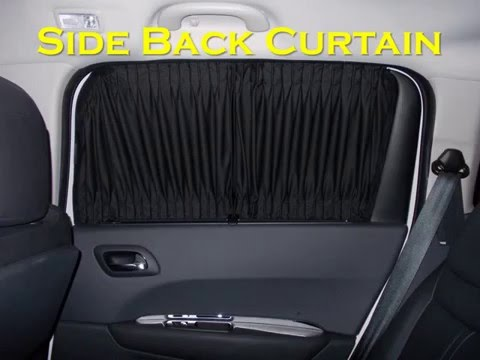 Kelvin Sachi Customized Car Curtain (Auto Car Curtain / Sun Shade)