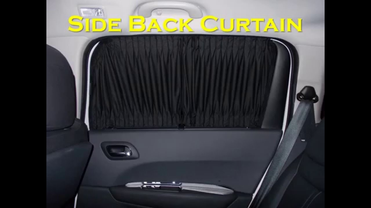 Kelvin Sachi Customized Car Curtain (Auto Car Curtain / Sun Shade)