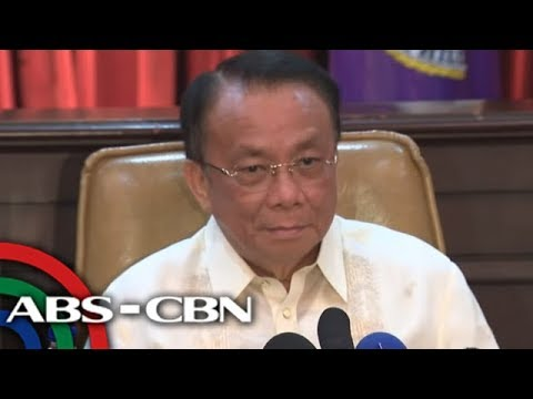 LIVE: Chief Justice Lucas Bersamin in first press briefing since taking oath |  November 28, 2018